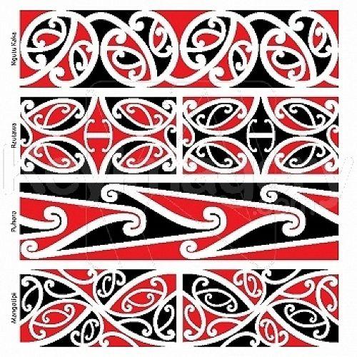 Maori - Kowhaiwhai design