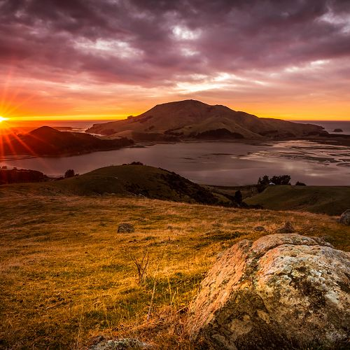 Hoopers Inlet - one of the splendid photographs entered in the 2016 Otago Peninsula Photography Competition organised annually by the Otago Peninsula Trust.