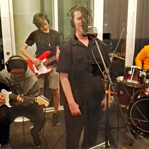 Video: 4Man Band   Fly Me To The Moon Cover