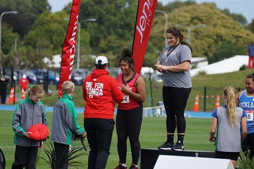 Jaidyn Busch NZ Track & Field Championships