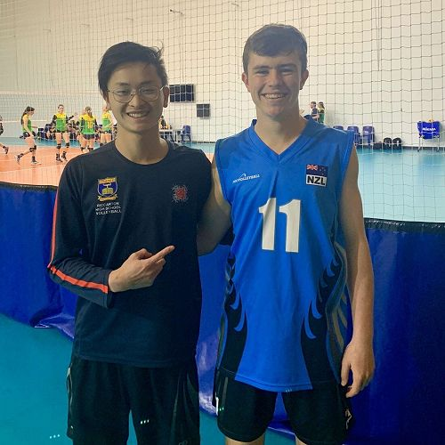 Orion Chau (13GN) and Spencer Lindsay (11WS)