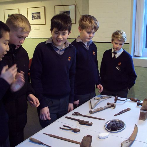 The tools and resources used at the turn of last century.