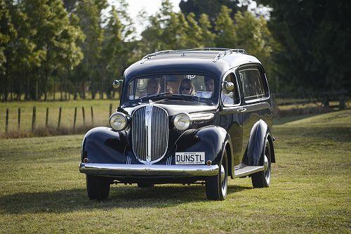 Napier - 1939 Plymouth - Dunstalls Funeral Service