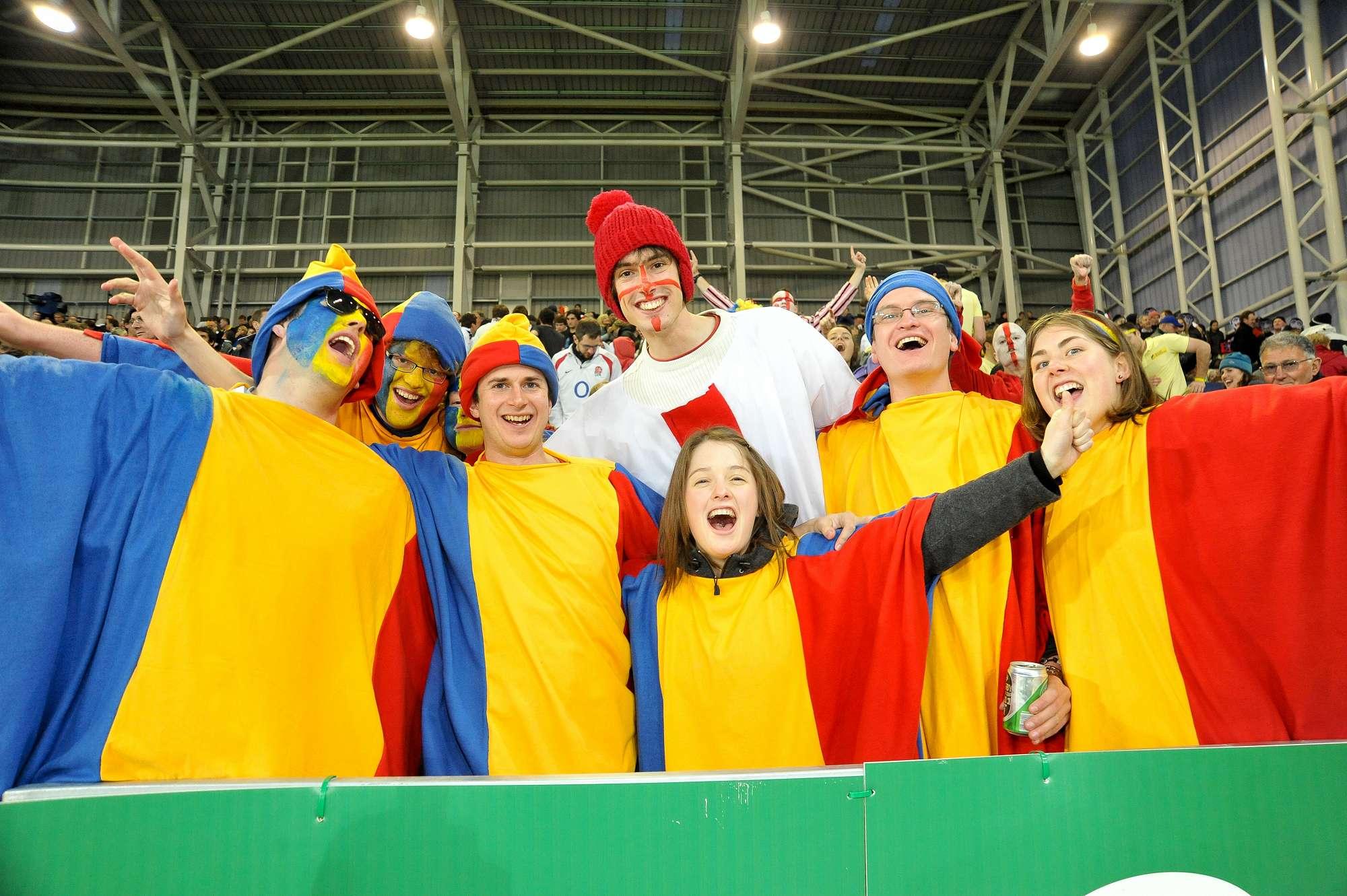 England v Romania - RWC 2011
