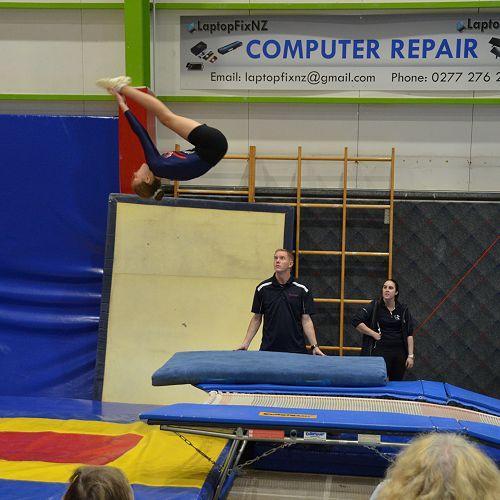 NicolaMcLachlan 9NMRC - NZSS Trampolining Championships