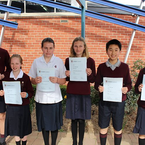ICAS Spelling 2018 Award winners