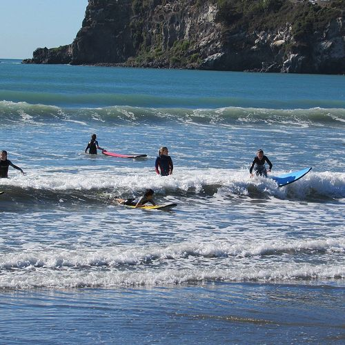 Room 3's Learn to Surf lessons at the end of Term 1