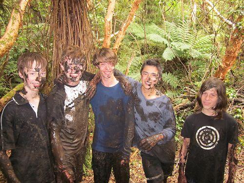 A muddy time at Tautuku Camp