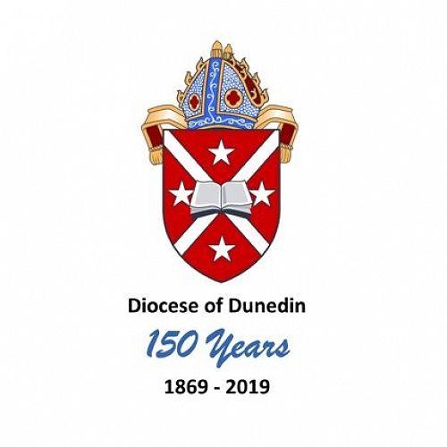 Diocese of Dunedin - 150th Logo