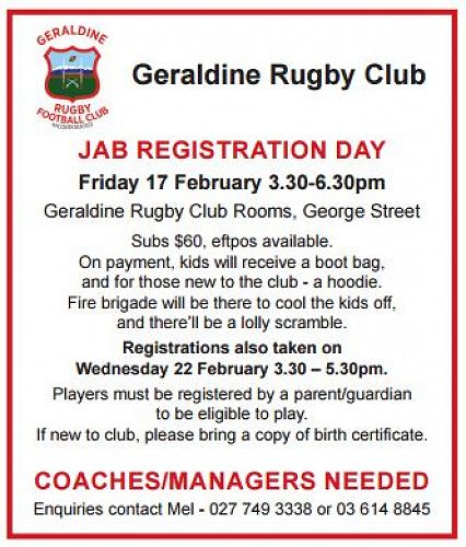 Geraldine Rugby Club