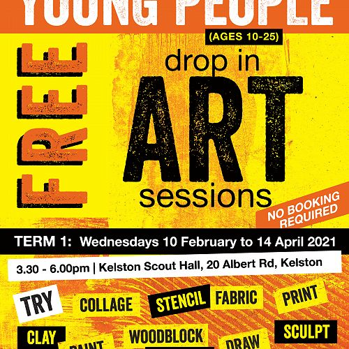 Drop in Art Sessions
