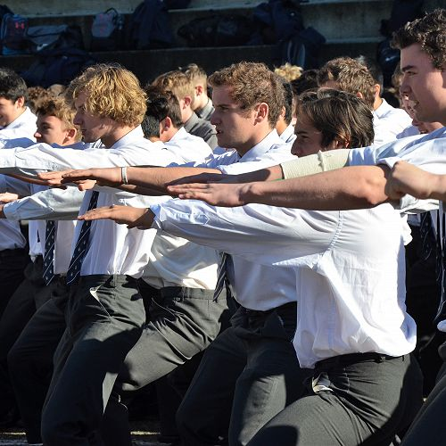 2018 Inter-house Haka competition
