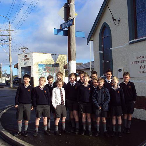 Walking tour around Maori Hill