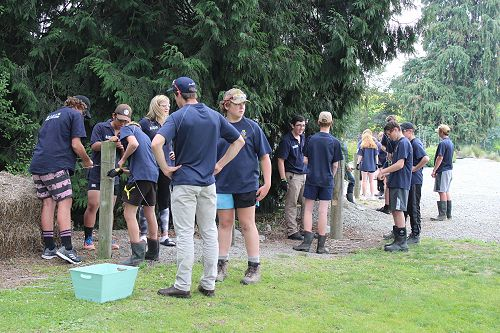 Taieri High School visit