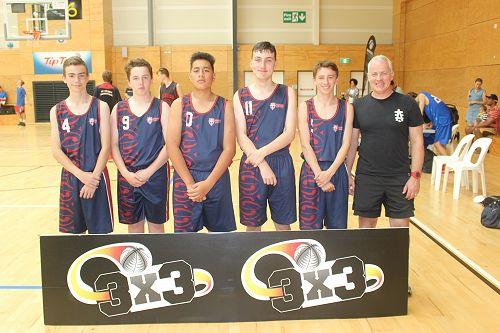 Junior boys team