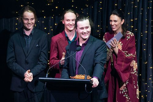 APRA Silver Scroll Awards at the Dunedin Town Hall