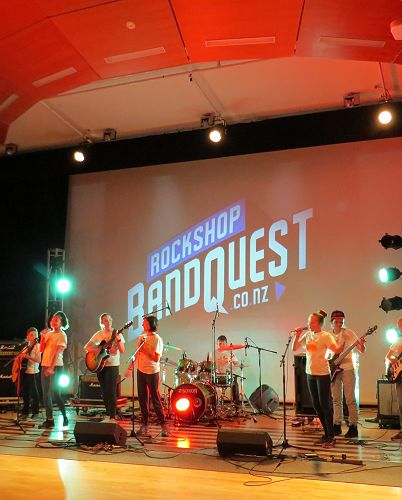 Bandquest in action