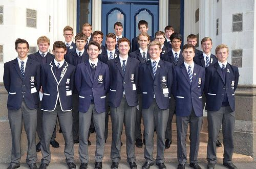 Year 13 students
