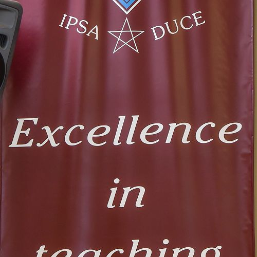 Banner- Excellence in Teaching and Learning
