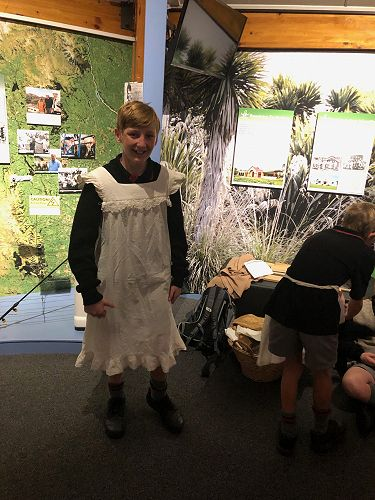 S C Museum and Timaru Library visit