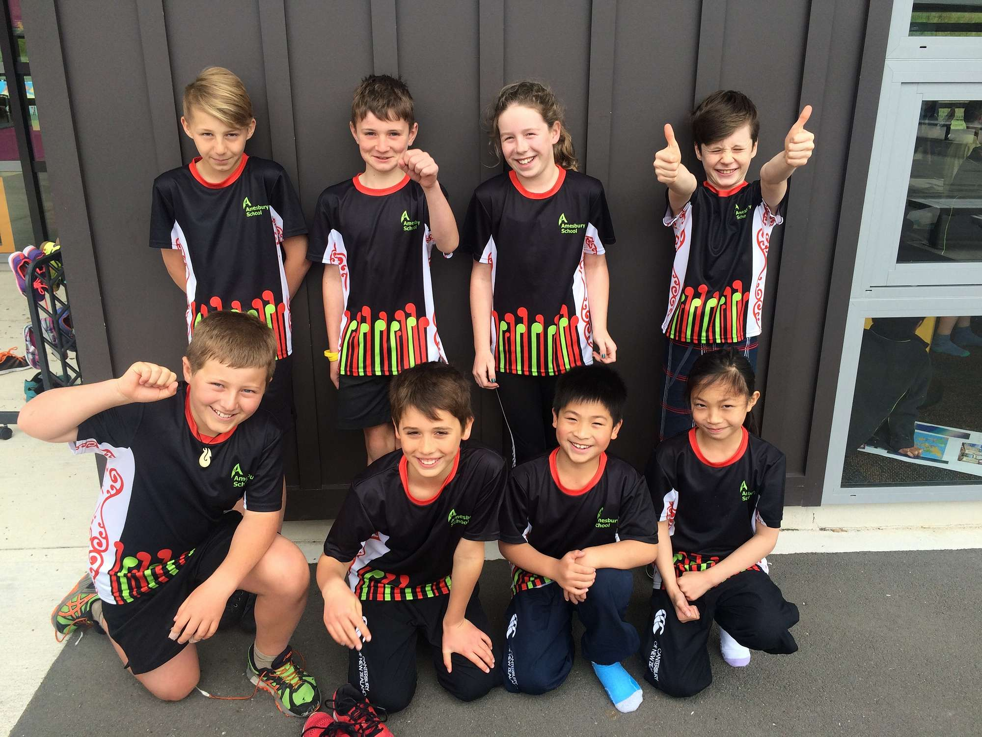 Amesbury Athletics Interzone Team 2015