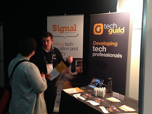 Signal Director Stuart Charters chats with tech in