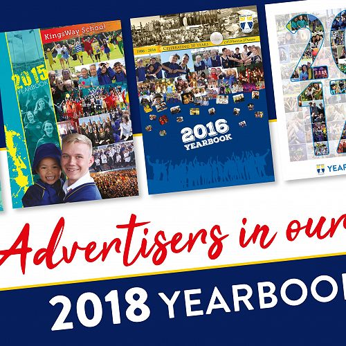 Advertisers in our Yearbook