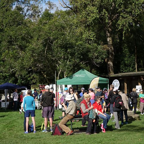 DoC Expo at Woodhaugh Gardens in 2017.