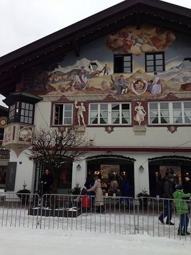 A painted house in Bavaria