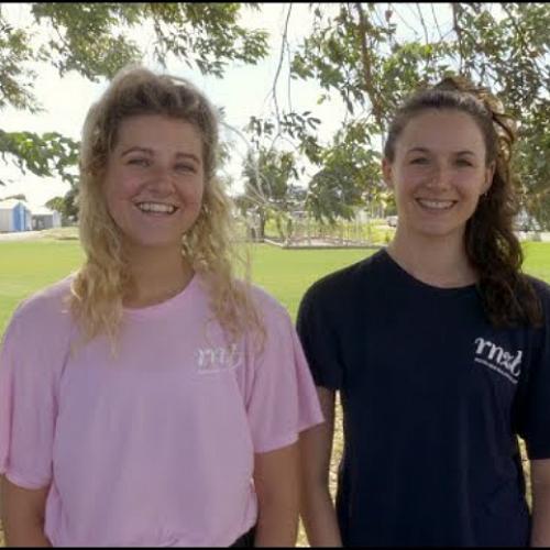 Lauren Byrne and Chloe Bishop RNZB Dance Educators