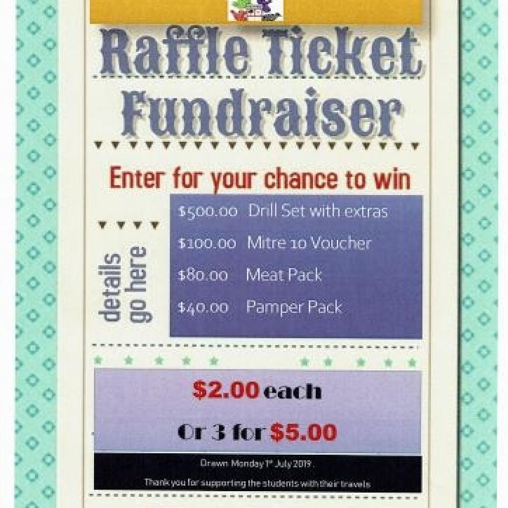 TOSI (Top of the South Island) Teams - Raffle - 31st May 2019