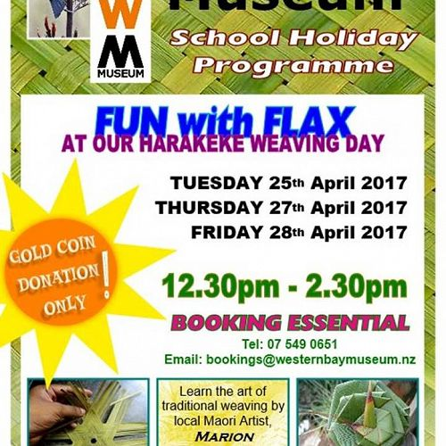 Western Bay Museum School Holiday Programme