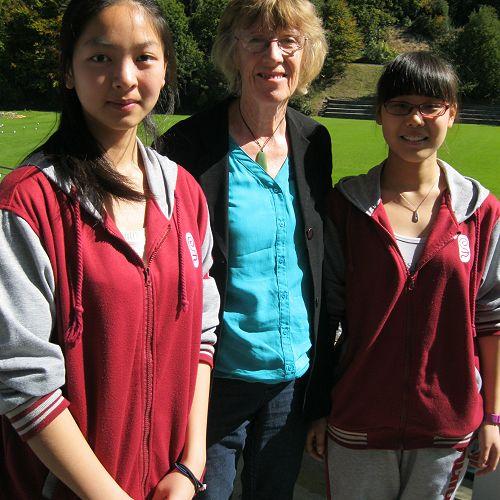 Shanghai visitors