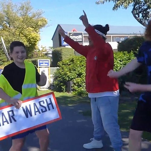 Video: 12JUS Carwash Fundraiser for Cyclone Gita aid in Tonga and other islands