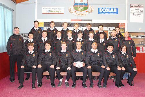 GHS Under 14 1/2 Rugby Team