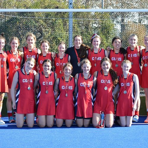 Second Place in the South Island Secondary School Hockey Championship