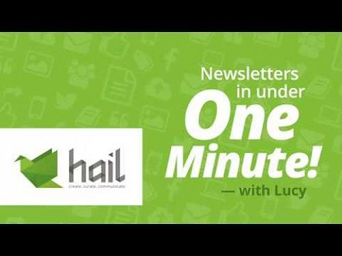 Video: Create a Newsletter in Under One Minute