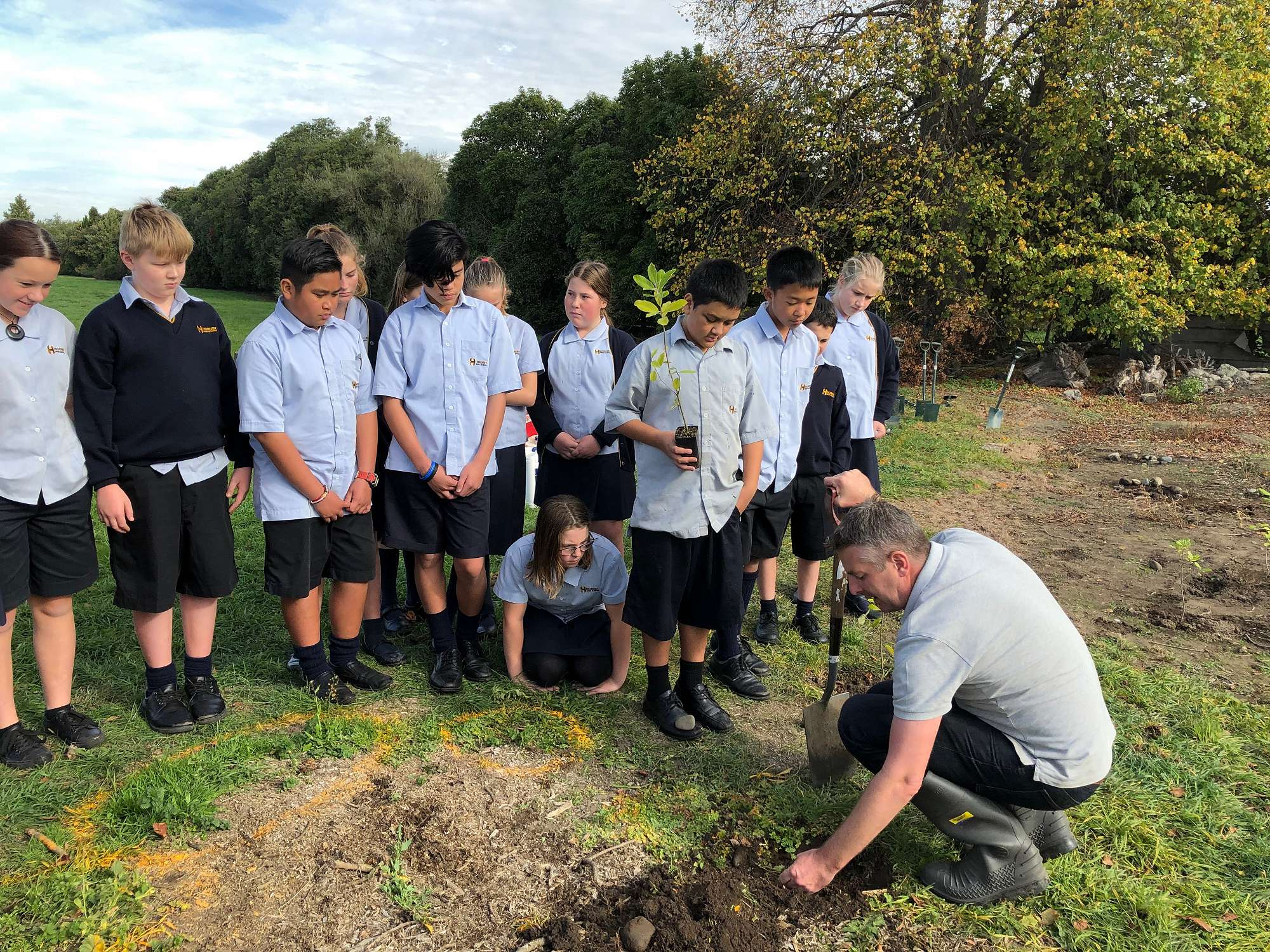 Year 7 & 8 students' passion project impacts on the environment