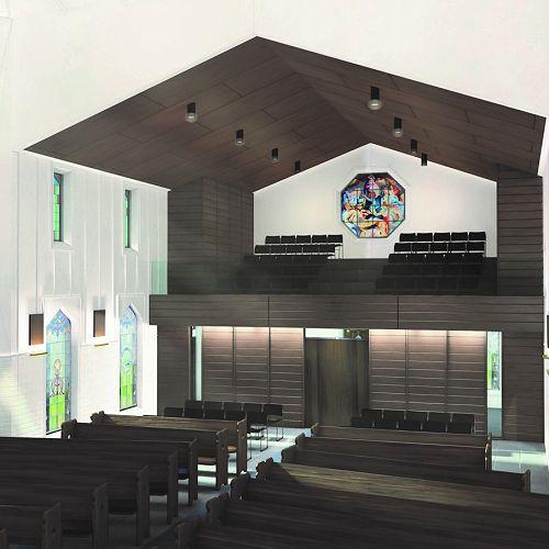 New Chapel - inside view