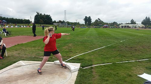 Jessica at the SISS Athletics